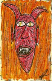 R-Basquiat- demon 11-003