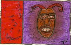 R-Basquiat- demon 11-004