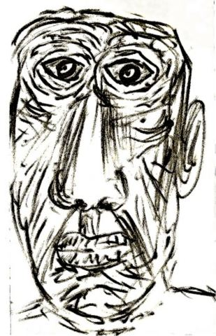 R - Self-Portrait as an Old Man