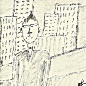 R - Self-Portrait in NY