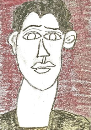 R - Self Protrait as a Young Artist