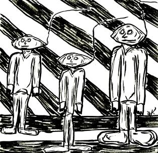 The Nod Trio circa 1962