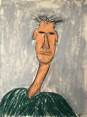 1- Self-portrait, I think