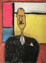 17- Mondrian's Moustache