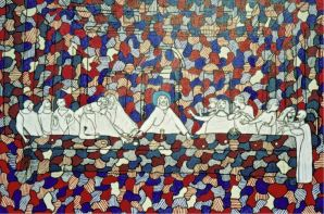 R - Dubuffet's Last Supper