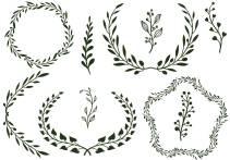 free-laurels-vectors