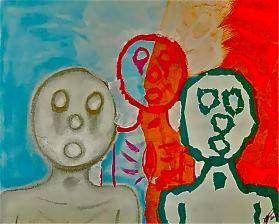R-The Hollow Men 88- Study of Three