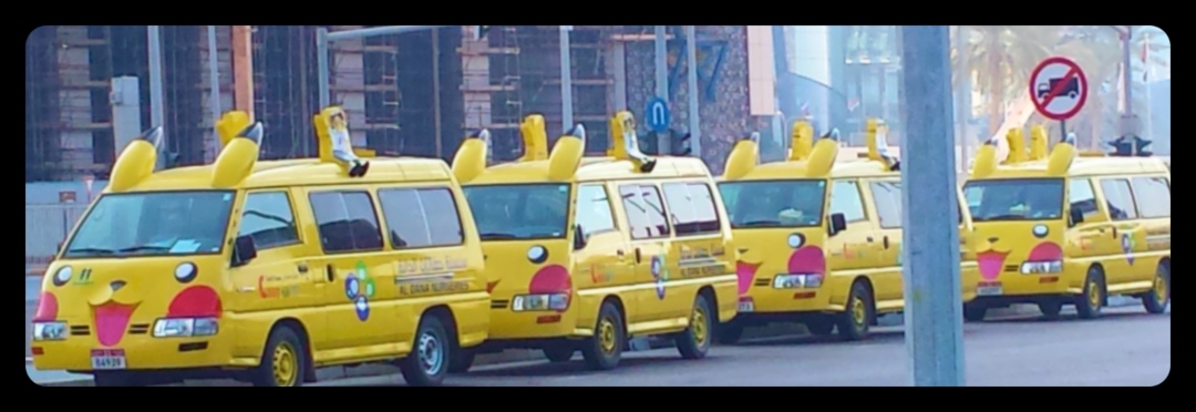 They Can Park Here. Pikachu are not trucks