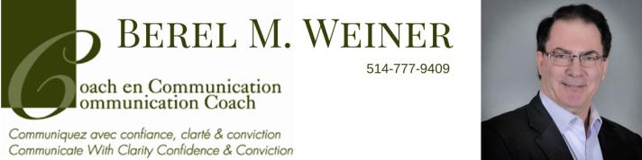 Berel M. Weiner header