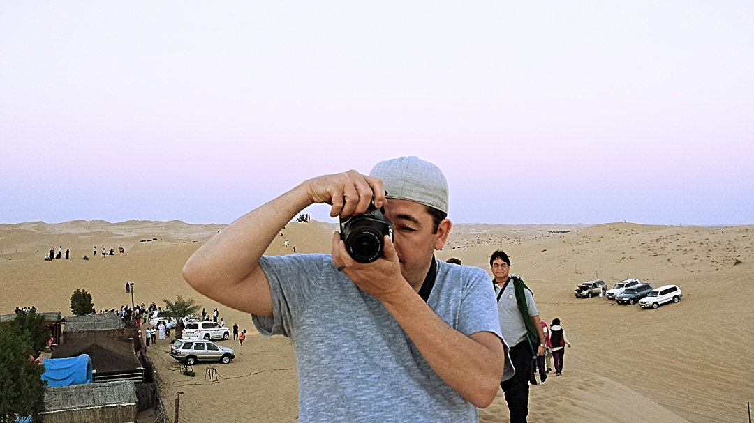 Catching the Photographer - Al Ain Desert