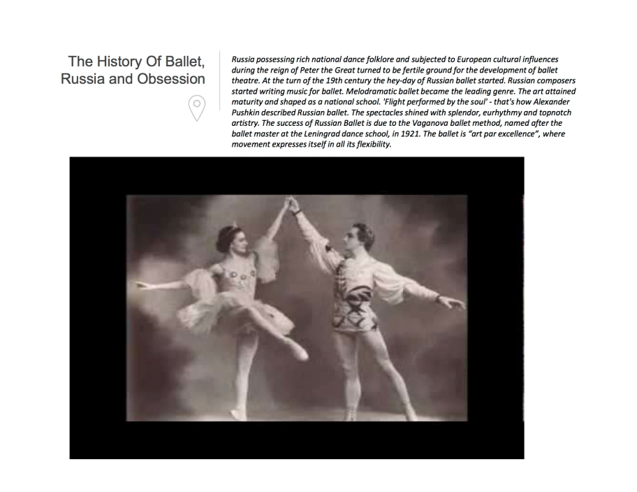 History of Ballet in Russia