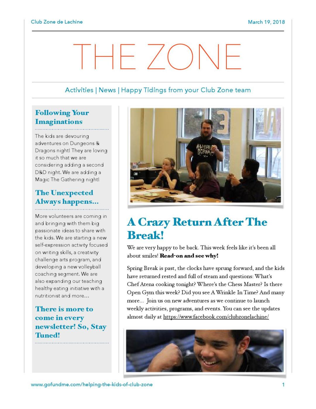 Club Zone Newsletter 2018-03-19_1