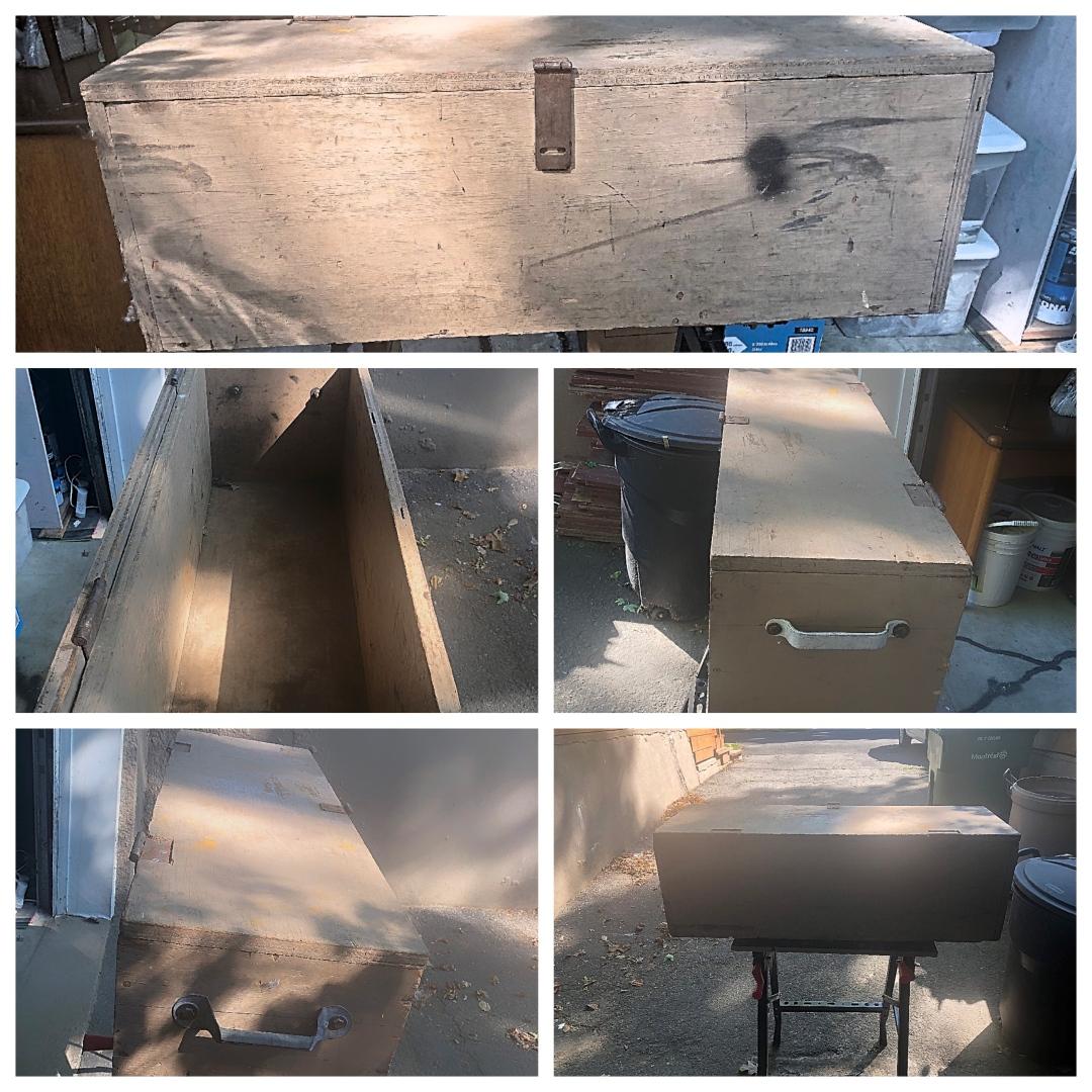 Old Tool Box