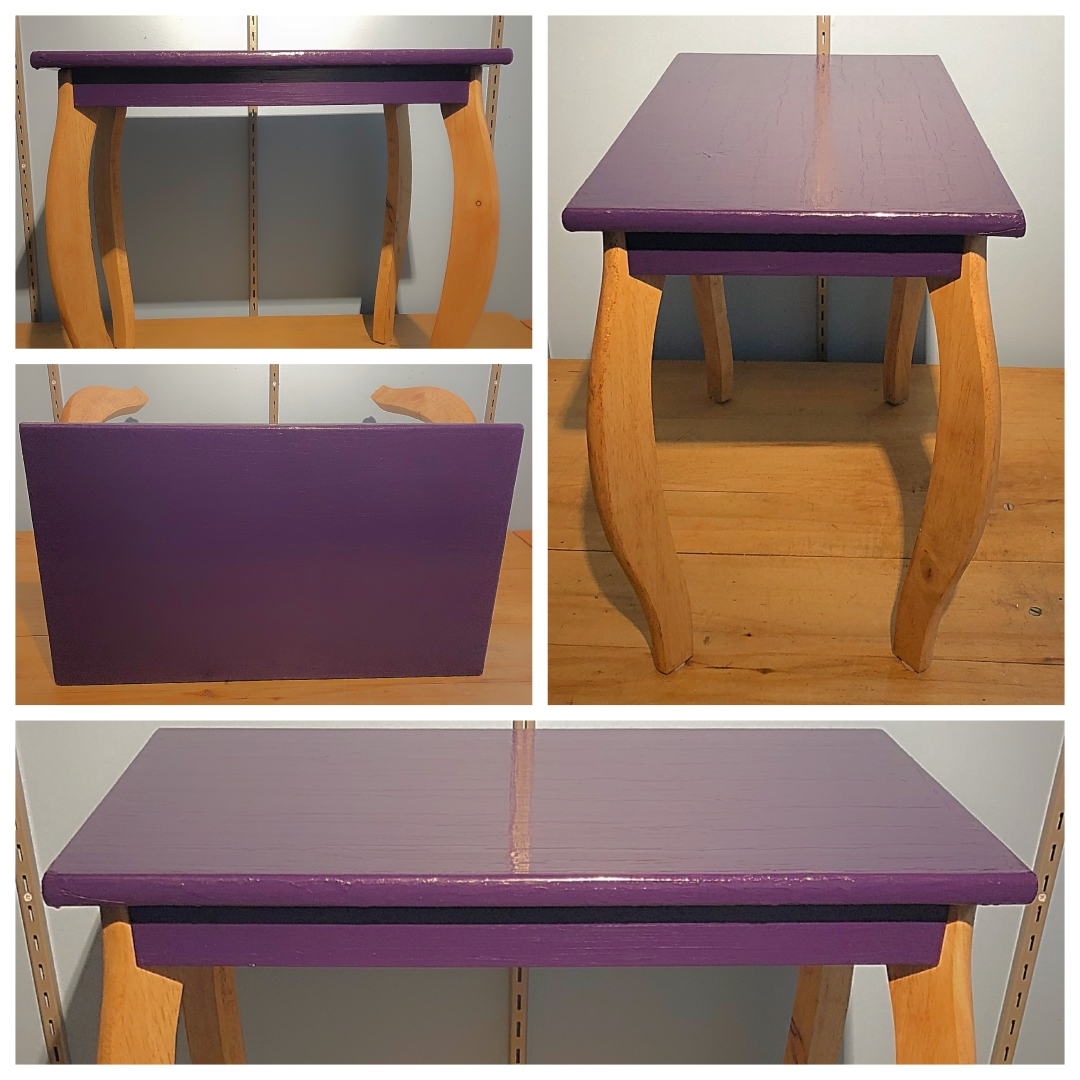 Lovely Lines Side Table Refinished